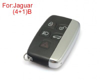 Remote Key Shell 4+1 Buttons for Jaguar