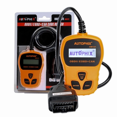 AUTOPHIX OM121 OBD2 EOBD CAN Engine Code Reader OM121 Diagnostic Scanner