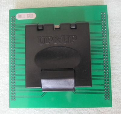 Specialized BGA110 memory chip adapter BGA110 test socket adapter for up818 up828
