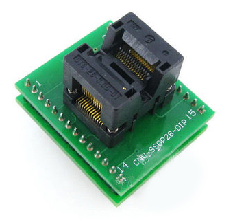 CNV SSOP28 to DIP28 socket 28 pin chip adapter tssop28 ic socket