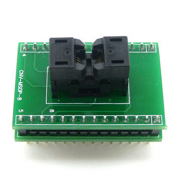 CNV msop8 8 pin adapter 0.65mm ic socket ssop8 8 pin ic socket