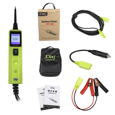 JDIAG BT-100 Battery Electrical System Circuit Tester BT-100 AS Autel PS100 Tester
