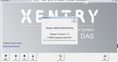 2018.05 Xentry OpenShell MB SD Compact C4 /C5 Software 5/2018 Xentry Das Supports WIN7/WIN 10 System