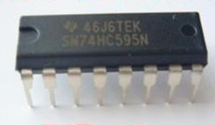 New original TI SN74HC595N 74HC595 8 Bit Shift Register DIP-16 50pcs/lot