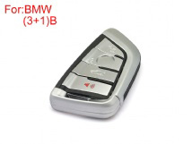Key Shell 3+1 Buttons for 2014 BMW
