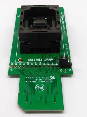 eMMC169 eMMC153 test Socket to SD BGA 169 and BGA 153 for nand flash data recovery