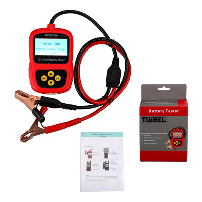 MICRO-100 Digital Battery Tester Battery Conductance & Electrical System Analyzer