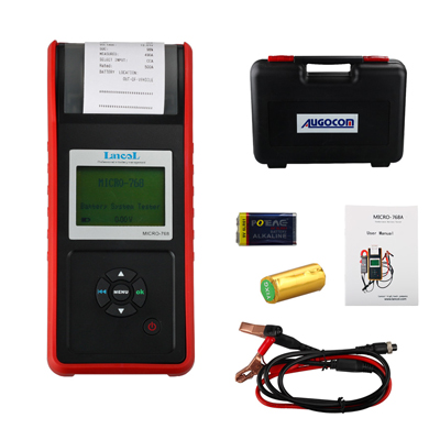 AUGOCOM MICRO-768 Battery Tester MICRO 768 Conductance Tester for Automobile Battery