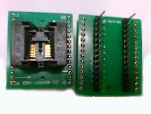 CNV ssop16 to dip16 socket 16 pin ic socket tssop16 ic test socket
