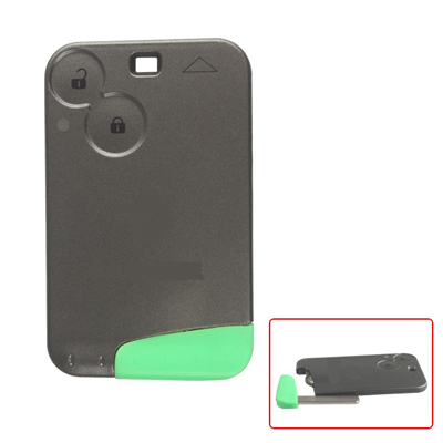 2 Button Smart Key With Logo For Renault Laguna 433MHZ