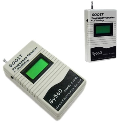 GY560 Frequency Counter Mini Handhold Meter GY 560 50MHz-2.4GHz