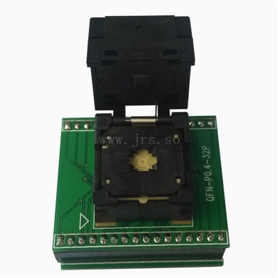 QFN32 to DIP32 test socket 4*4/5*5 mm QFN32 programmer adapter