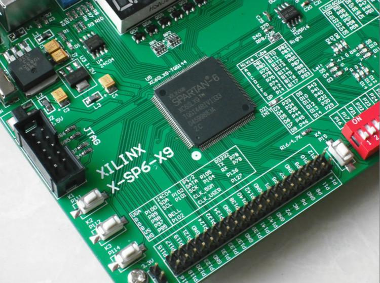 Spartan-6 xilinx board xilinx fpga development board