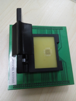 Specialized VBGA153P NAND eMMC Flash Test socket for up-818P up-828P