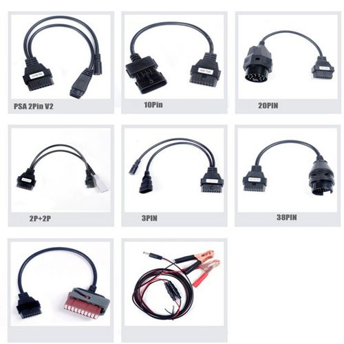 Full set Car Cables for CDP plus and Delphi DS150E New VCI