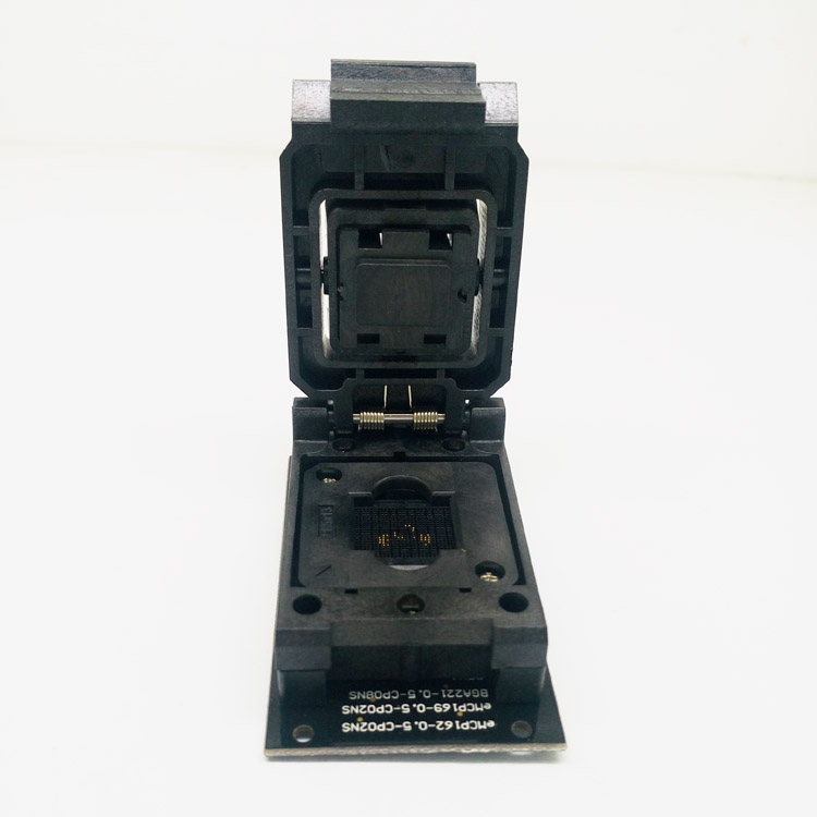 eMMC169 eMMC153 Test Socket Adapter BGA169 BGA153 Clamshell