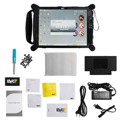 EVG7 Tablet PC 2G/4G/8G DDR with Diagnostic Software EVG7 Touch Screen 500GB HDD